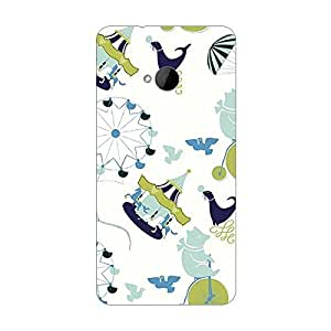Garmor Designer Silicone Back Cover For HTC One M9