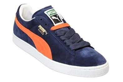 Puma Suede Blue And Orange