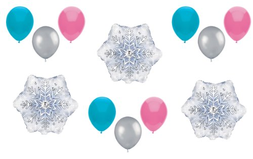 1 X Disney Frozen Balloons Expansion Set - Party Decorating Kit - 12 Balloons Total - 1