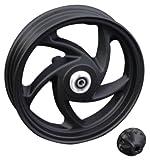 キタコ(KITACO) スポークキャストホイール(10インチ5本) ブラック(フロント用) V125S 509-2416710