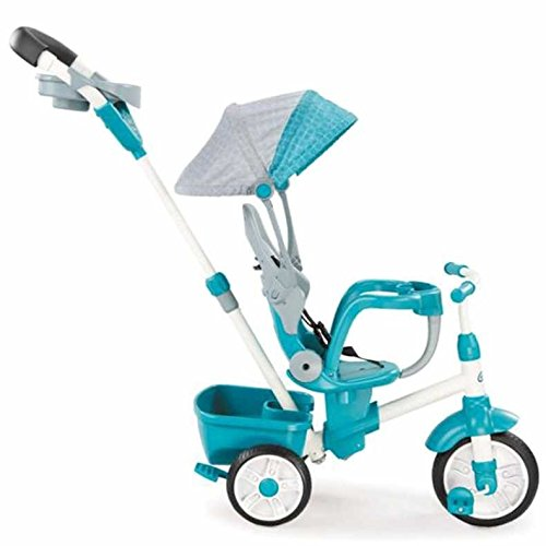 Lowest Prices! Little Tikes Perfect Fit 4-in-1 Trike, Teal
