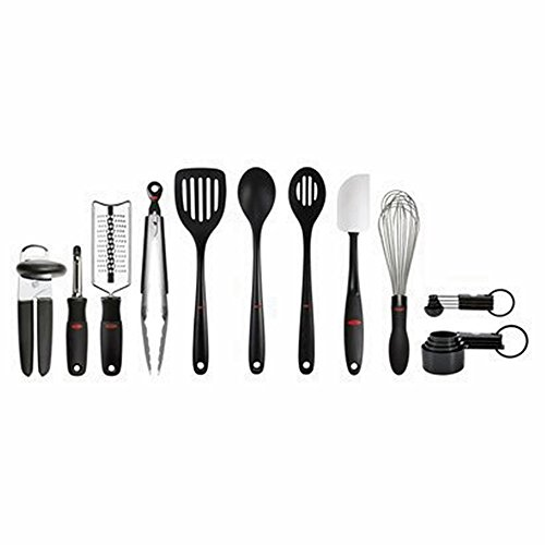 OXO SoftWorks 17 Piece Culinary Tool & Utensil Set