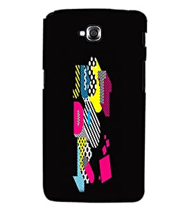 LG G PRO LITE JUST DO IT Back Cover by PRINTSWAG