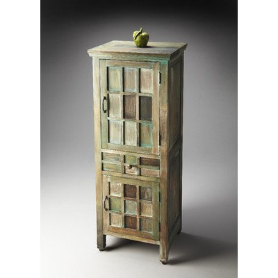 Butler Specialty Company Artifacts Three Shelves Accent Cabinet
