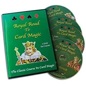 Royal Road to Card Magic (4 DVD Set)