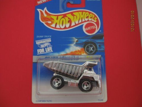 Hot Wheels Dump TrucK All Chrome From Silver Series Two - 1