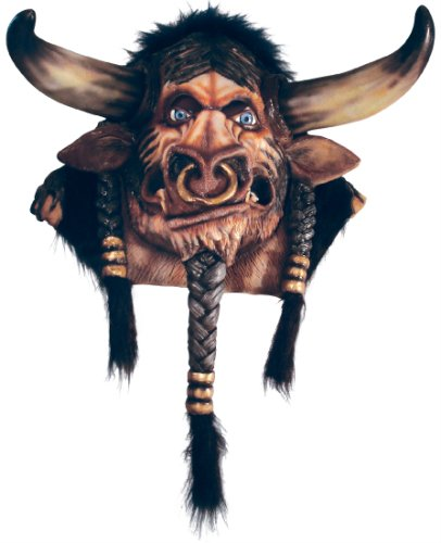 World of Warcraft Tauren Overhead Latex Mask