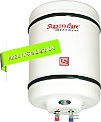 Signora Care SC-SWH-2507 2000 Watts Storage Water Heater 15 Litres --Creamish White