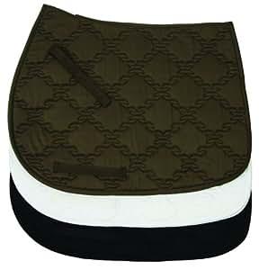 TuffRider Lanyard Dressage Saddle Pad Black
