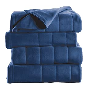 Sunbeam Royal Dreams Blanket Queen, Newport Blue