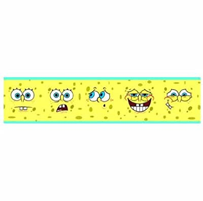 Spongebob Faces Wallpaper Border by Lux