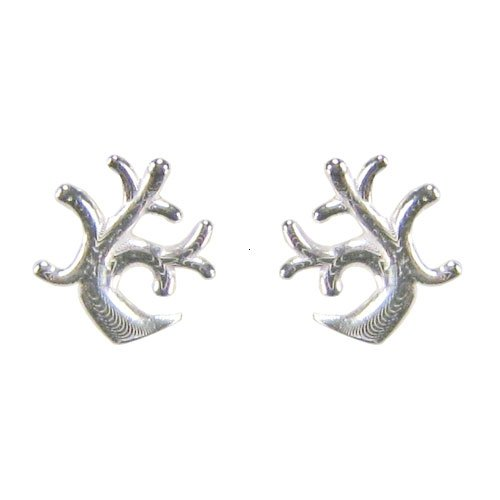 Tomas Sterling Silver Coral Post Earrings