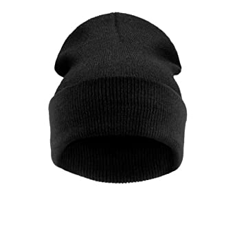 4sold - Bonnet -  Homme Noir black without logo
