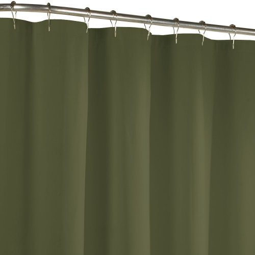 Maytex Fabric Shower Curtain Liner, Sage front-865049