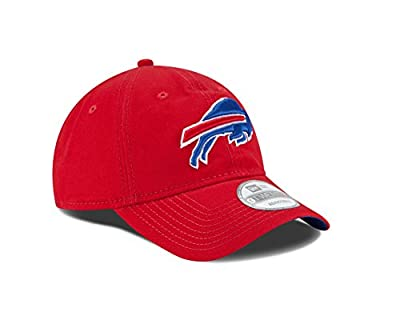NFL Buffalo Bills Core Shore 9Twenty Adjustable Cap, Red, One Size