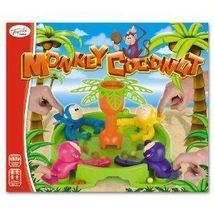 Toyrific Affe-Kokosnuss-Spiel