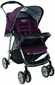 Graco Mirage Plus Pushchair (Plum, 0 - 36 Months) by Graco