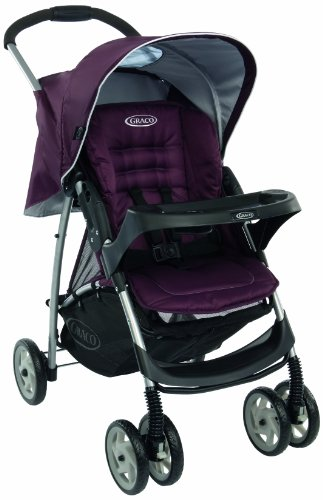 Graco Mirage Plus Pushchair (Plum, 0 - 36 Months)