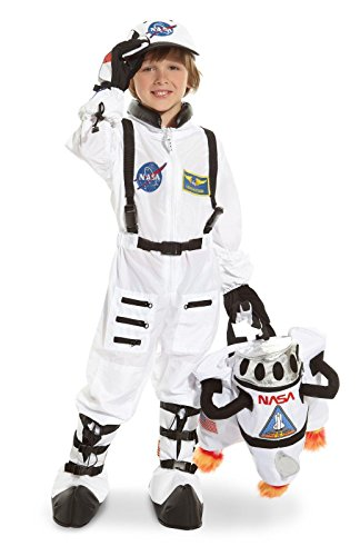 Jr. Astronaut Suit White Child Costume - Kid's Costumes
