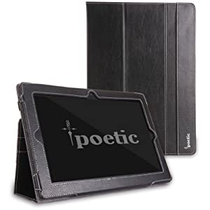 Poetic Slimbook Case for Lenovo Ideatab S6000 10.1-Inch 16GB Tablet Black (3 Year Manufacturer Warranty From Poetic)