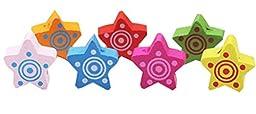 Star Design Pushpins Drawing Pin 50 Pcs for shcool or office