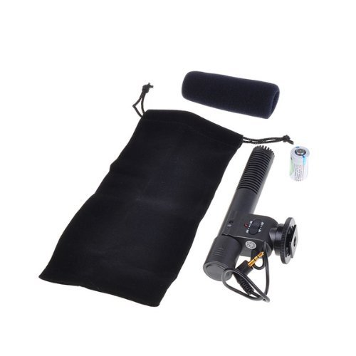 Signstek Professional Stereo Microphone Of Dv For Canon Eos550D 600D Rebel T3I T2I Camera
