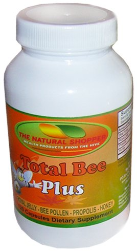 USA Royal Jelly in Total Bee Plus, includes bee
