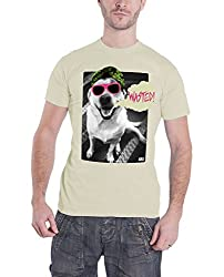 Kill Brand Wasted Dog Official Mens Cream T Shirt All Sizes by Kill Brand