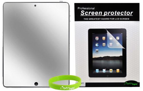 CrazyOnDigital Mirror Screen Protectors for Apple iPad 2 2nd Generation 16GB 32GB 64GB 3G Wifi