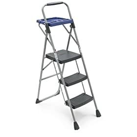 Werner 3 Step Project Ladder With Platform Equipment