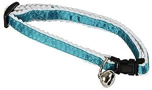 Kerbl 82642 Katzenhalsband, reflektierend blau