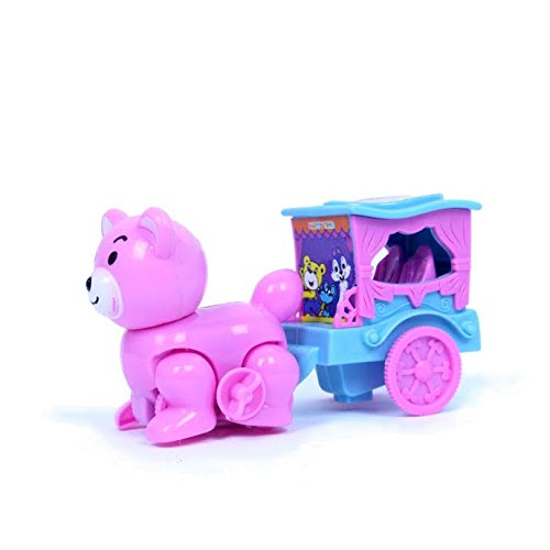 Dazzling Toys Wind-up Cat and Buggy (D230) - 1