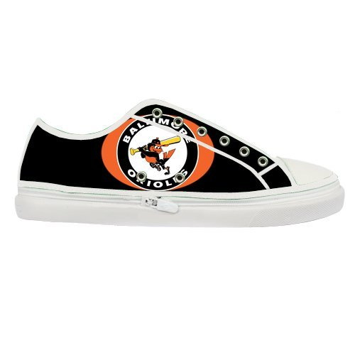 Brand New Custom Baltimore Orioles Canvas Shoes for Women White at Amazon.com