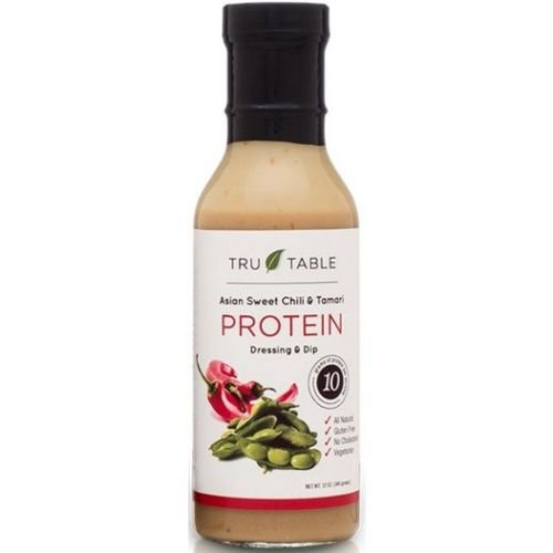 Tru Table Asian Sweet Chili and Tamari Protein Salad Dressing, 12 Ounce -- 12 per case. (Tru Table Llc compare prices)