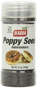 Badia Poppy Seed, 2.5-Ounce (Pack of 12)