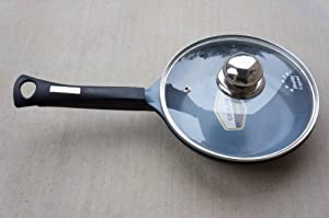 "8"" (20cm) Fry pan with Non-stick German Weilburger Ceramic Coating by Healthy Legend -ECO Friendly Non-toxic Cookware"