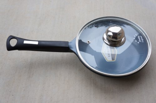 Fry pan with Lid, Non-stick German Weilburger Greblon Ceramic, 8-Inches (20cm) (Fry Pans With Lids compare prices)