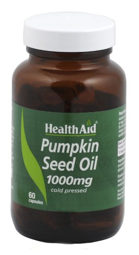 HealthAid Pumpkin Seed Oil 1000mg - 60 Capsules