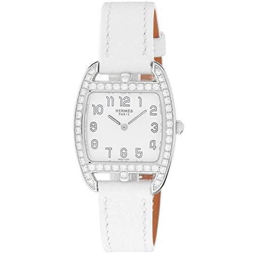 [エルメス]HERMES 腕時計 ケープコッドトノー ホワイト文字盤 CT1.230.130.UBC レディース 【並行輸入品】