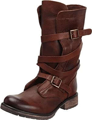 Steve Madden Women's Banddit Boot,Brown Leather,6.5 M US