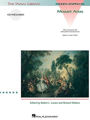 Mozart Arias for Mezzo-Soprano: The Vocal Library