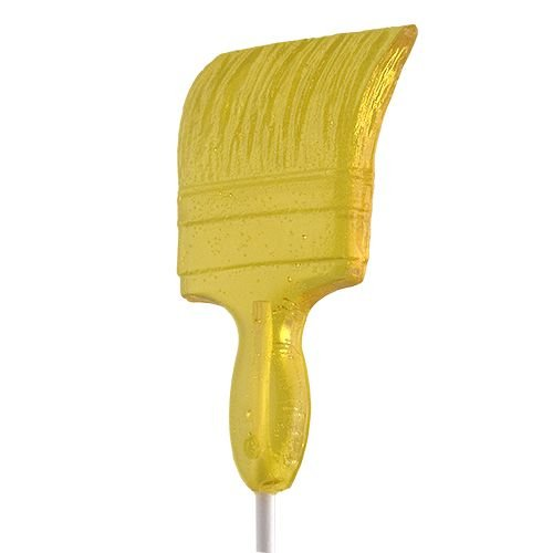 Paint Brush Shaped Lollipops