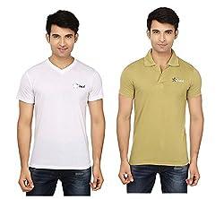 Strak Cotton Men's Casual T-Shirt (STR2032_M)