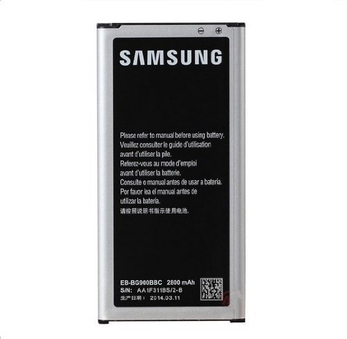 2800mAh Li-ion Replacement Battery for Samsung Galaxy S5 i9600 GT-i9600, Non-NFC ,18-Month Warranty