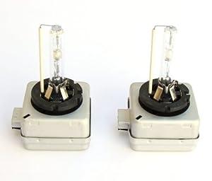 Set of 2 HID 10000K D3S D3R Xenon Replacement Headlight Light Bulbs