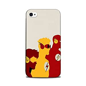 StyleO iPhone 5 / iPhone 5s Designer Printed Case & Covers (iPhone 5 / iPhone 5s Back Cover) - Superhero Flash