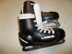 Amazon.com : Lange Goalie Ice Hockey Skates - size 3.0 - excellent