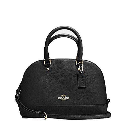 coach-mini-sierra-satchel-purse-f37217-black