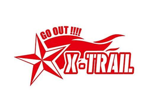 ノーティカルスター X-TRAIL エクストレイル カッティング ステッカー レッド 赤