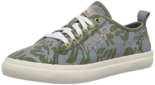 NAPAPIJRI FOOTWEAR Erin, Low-Top Sneaker donna, Multicolore (Mehrfarbig (scout khaki green multi N78)), 40